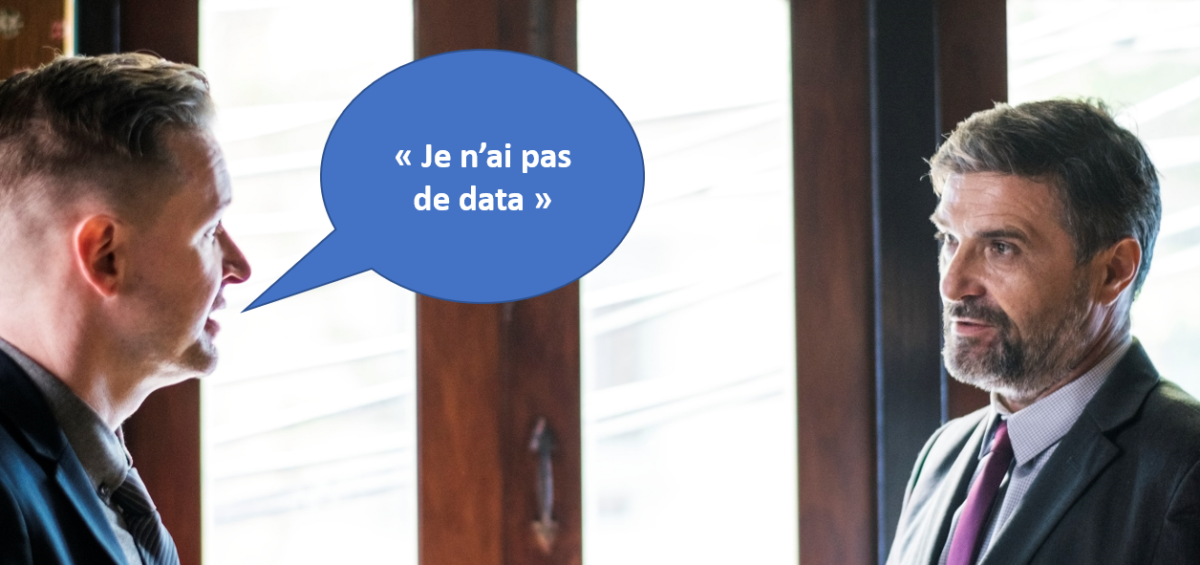 Je n'ai pas de Data marketing